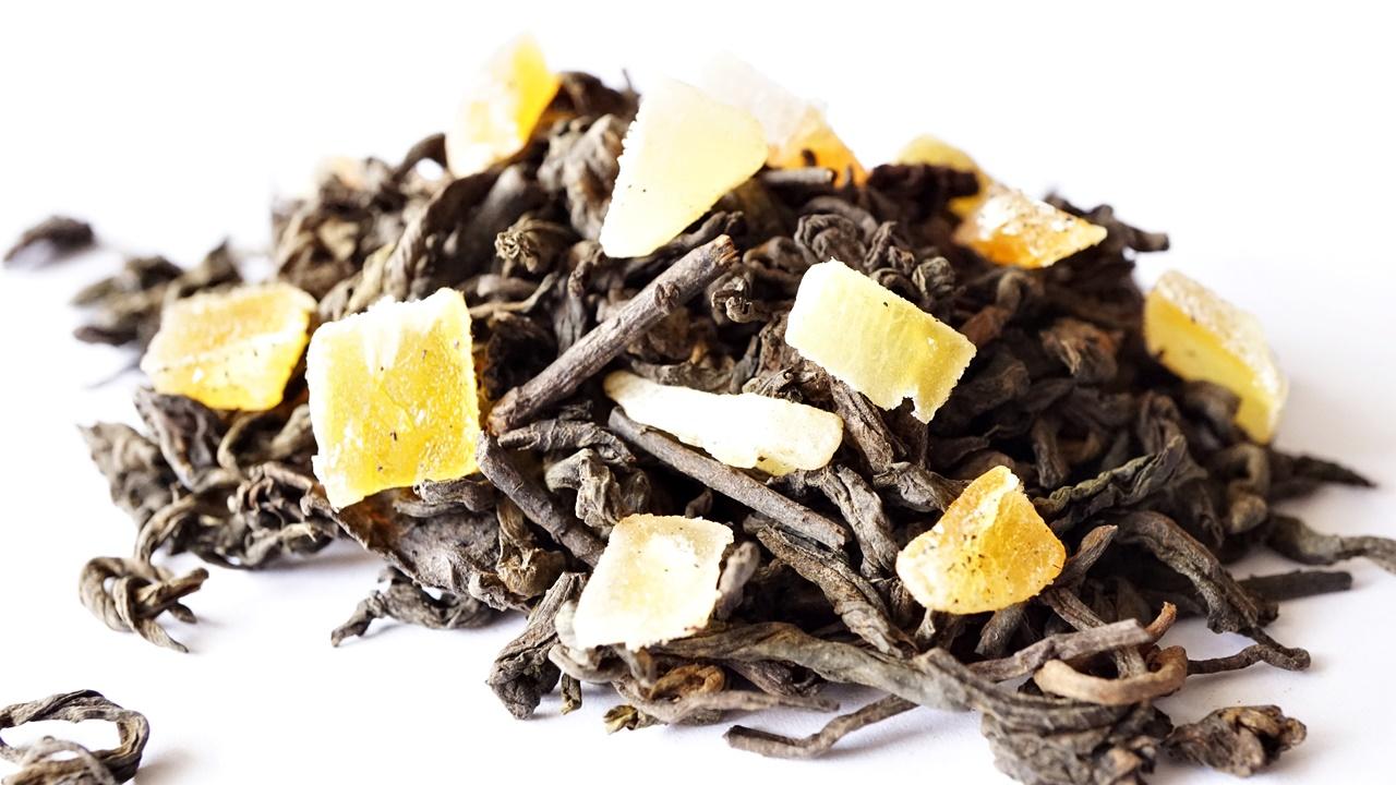 LADY GRAPEFRUIT, 1 kg čaj PUERH čaj, citrónová tráva