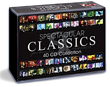 Item 40CD SPECTACULAR CLASSICS EXCLUSIVE COLLECTION