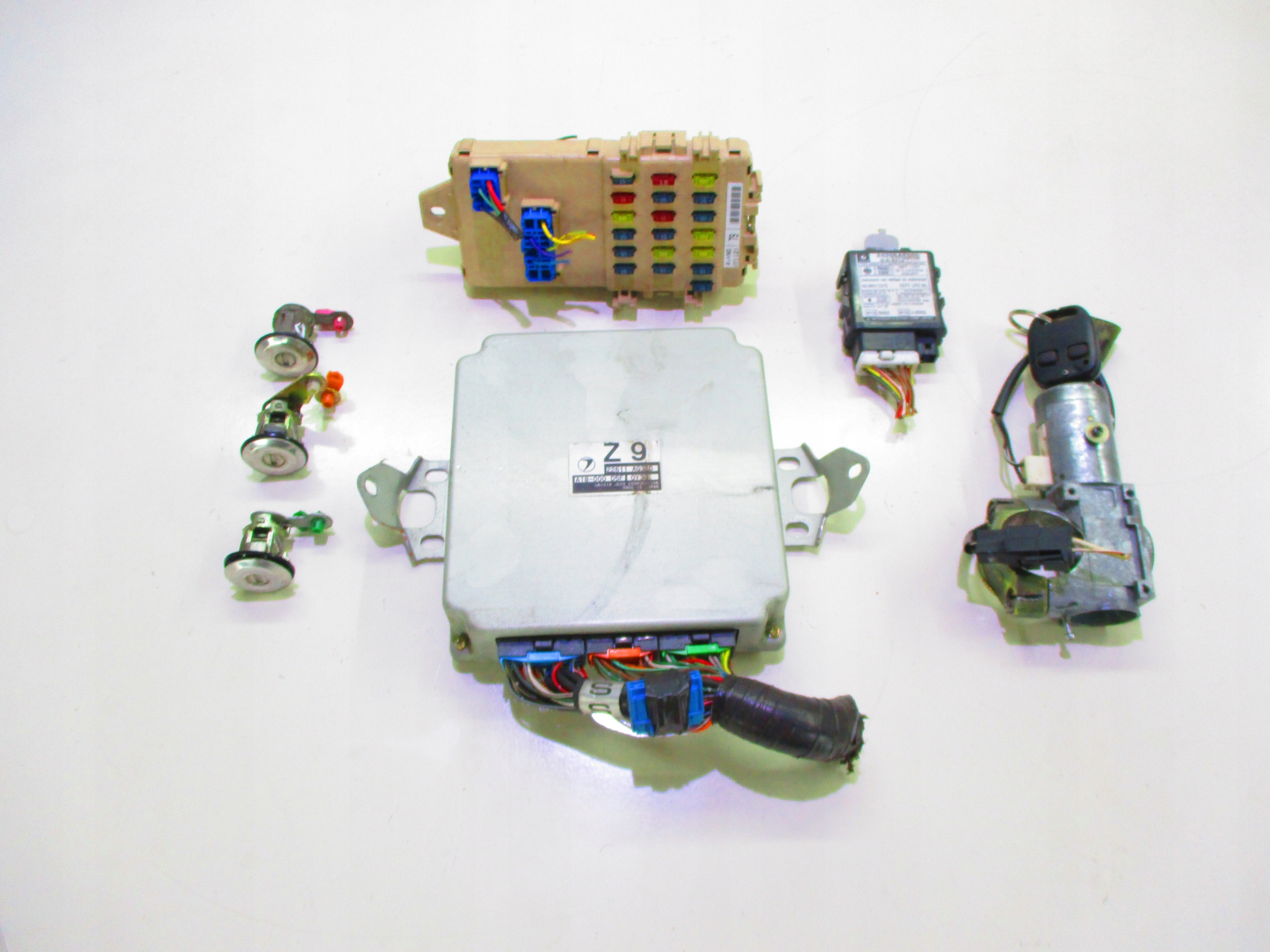 subaru forester 20 комплект иммобилайзер стартовый