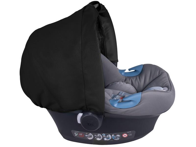 Item SHED SHELL for a car seat bag kangaroo HOOD NEW