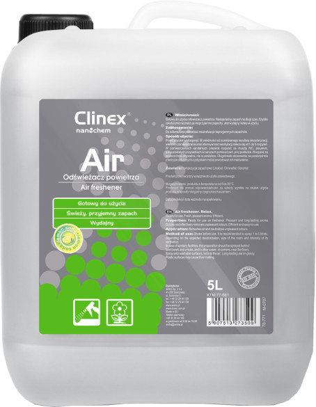 Освежитель воздуха CLINEX AIR LEMON SODA 5л