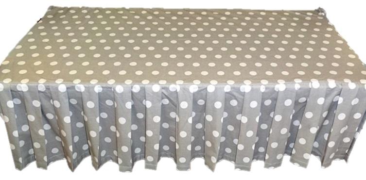 Falbanka maskovanie pre posteľ pod matracom 120x60