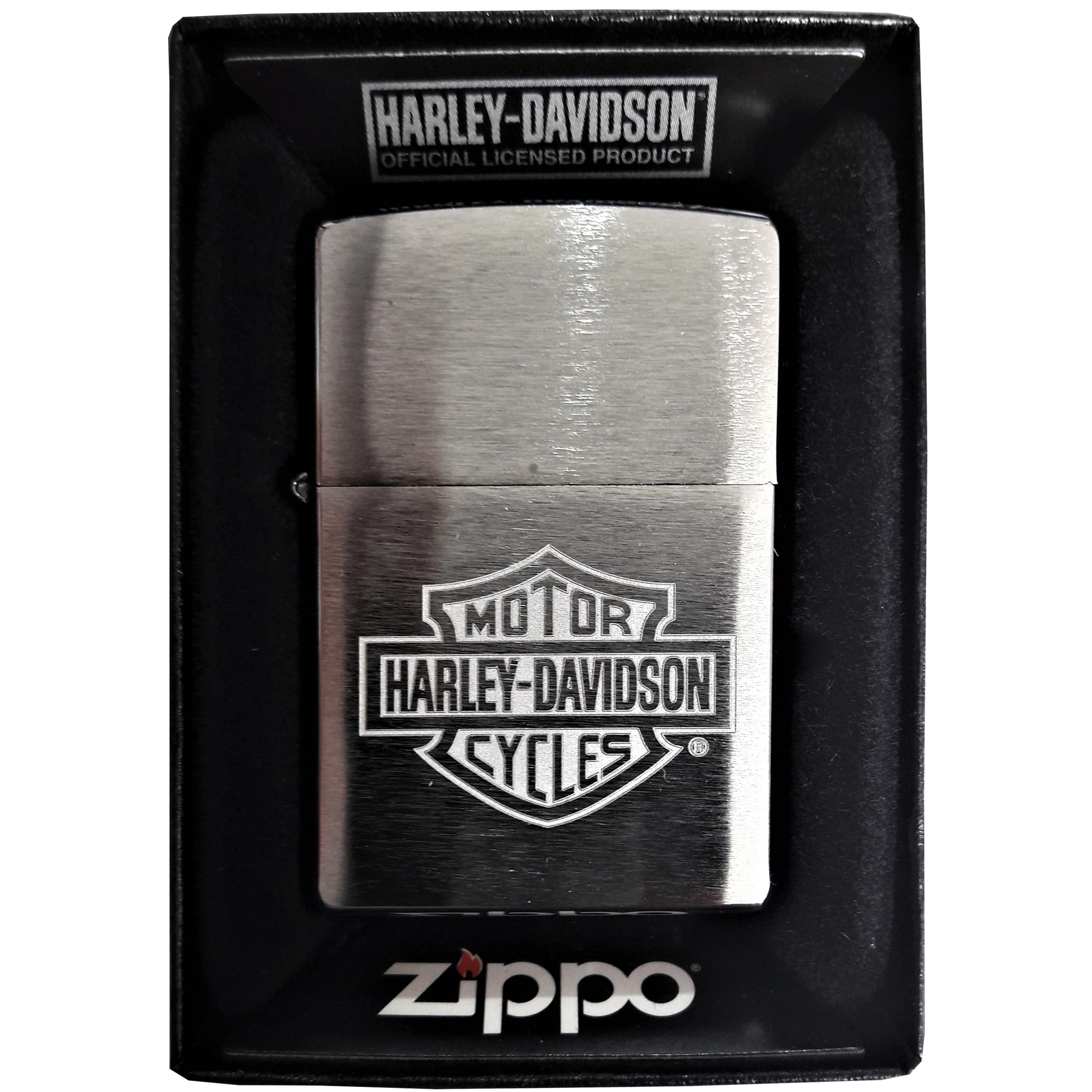 Зажигалка ZIPPO Harley Davidson Logo Type
