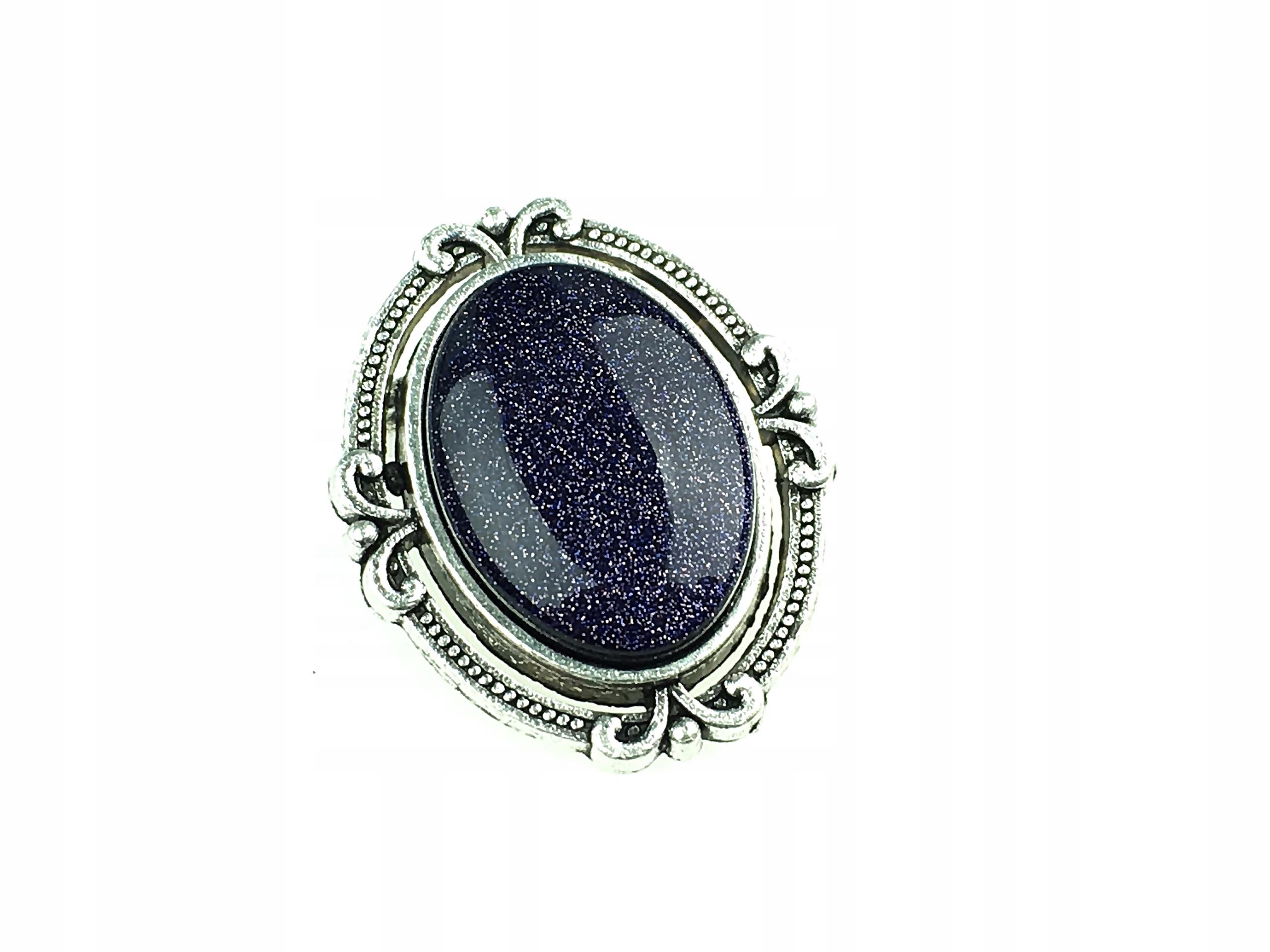 broszka medalion z kamieniem noc kairu produkt Pl