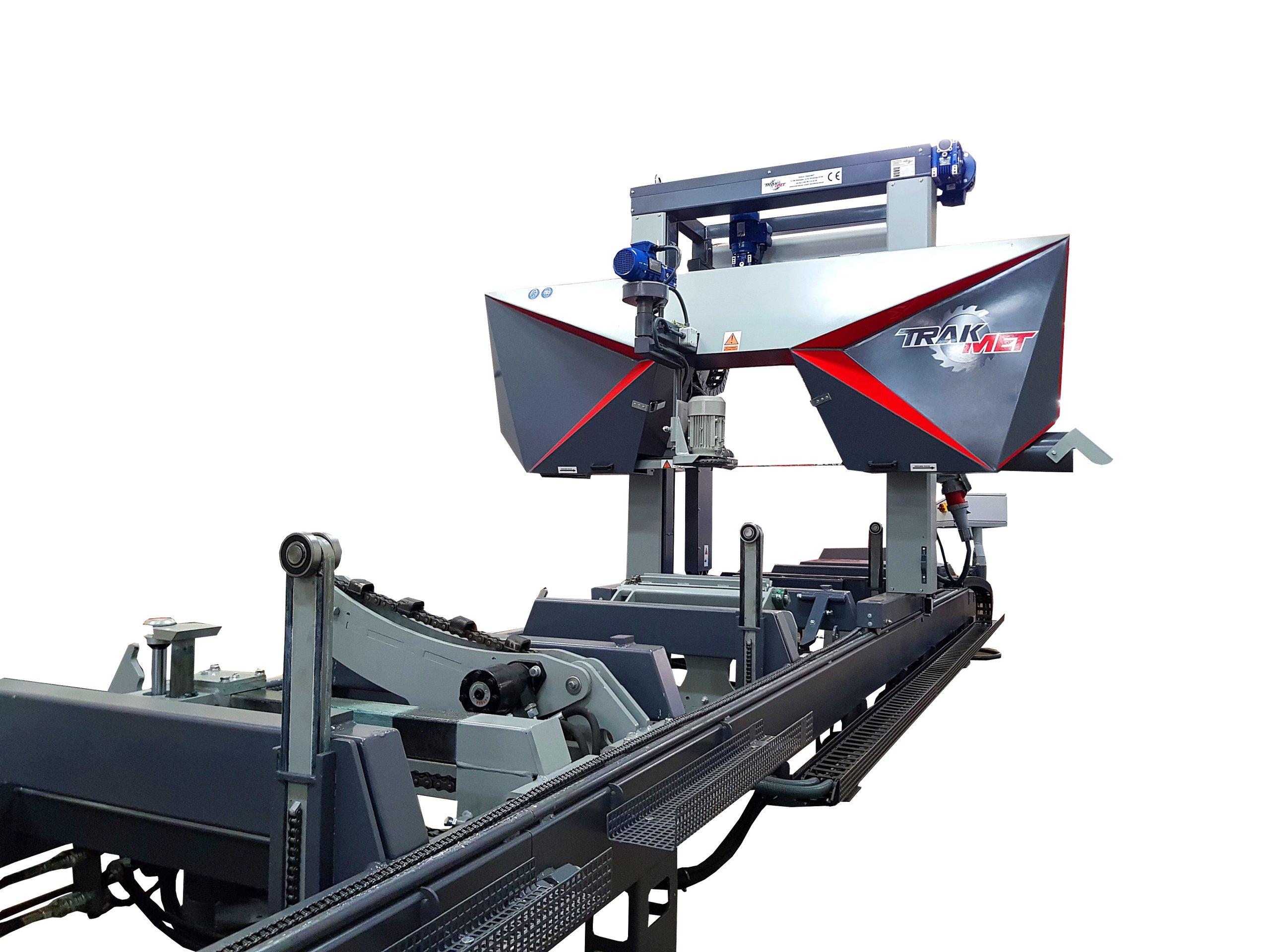 Промышленный станок ленточный 25м/8h пила 60мм TRAK-MET