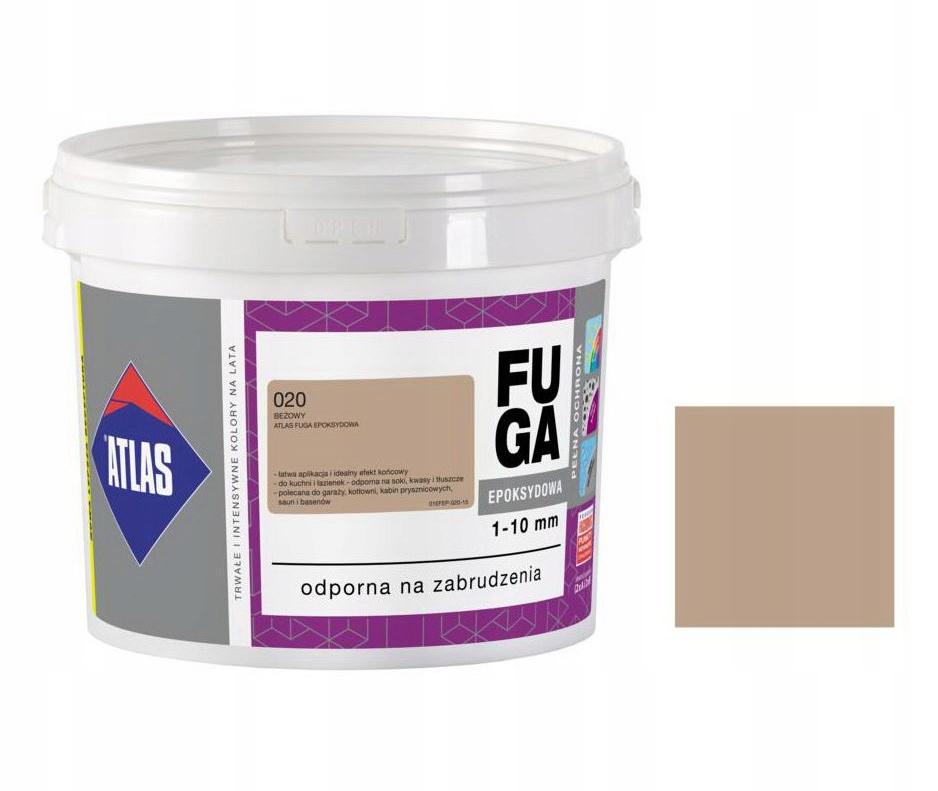 ATLAS FUGA EPOKSYDOWA 2kg - 020 BEŻOWY