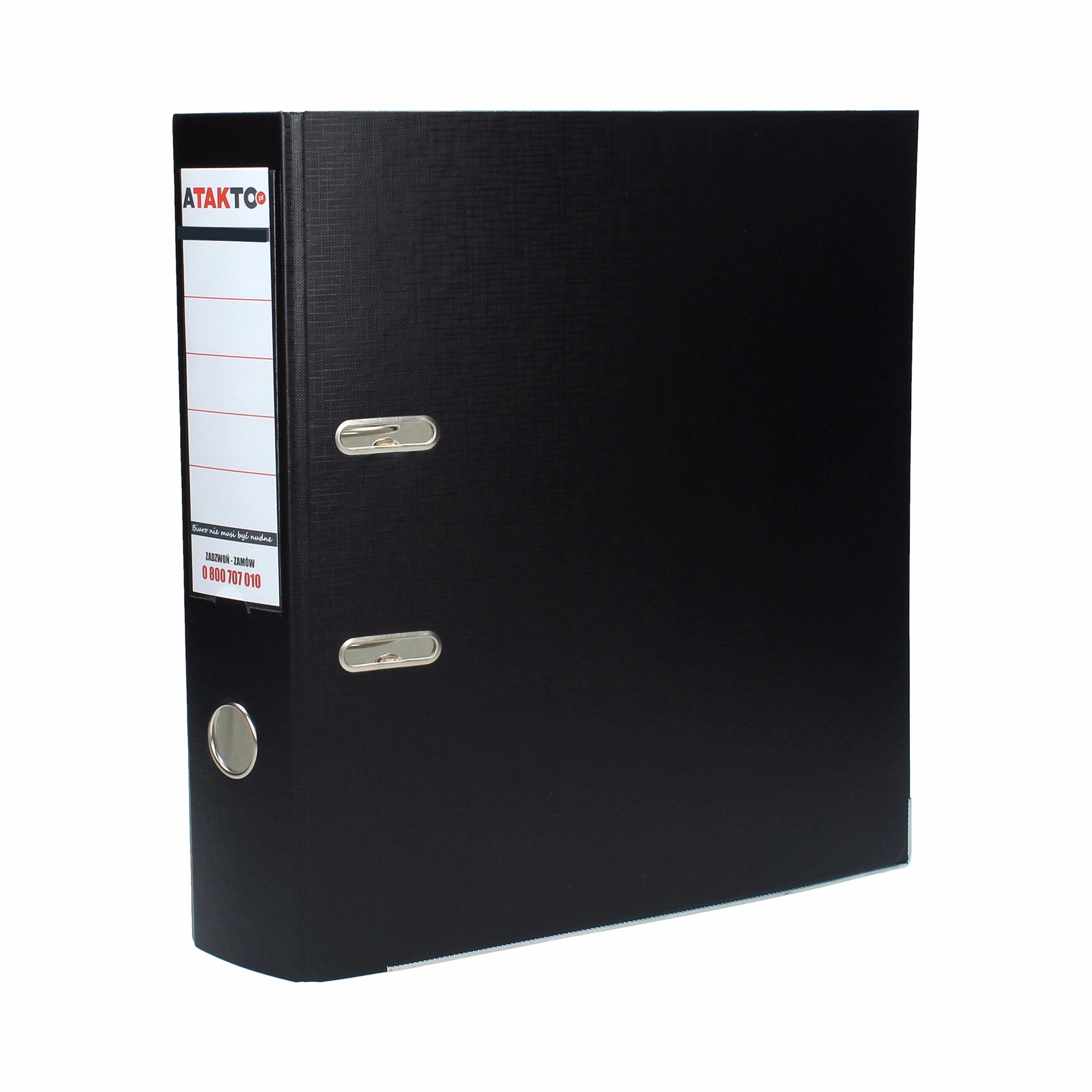 Item Binder A4 lever fittings/75 black