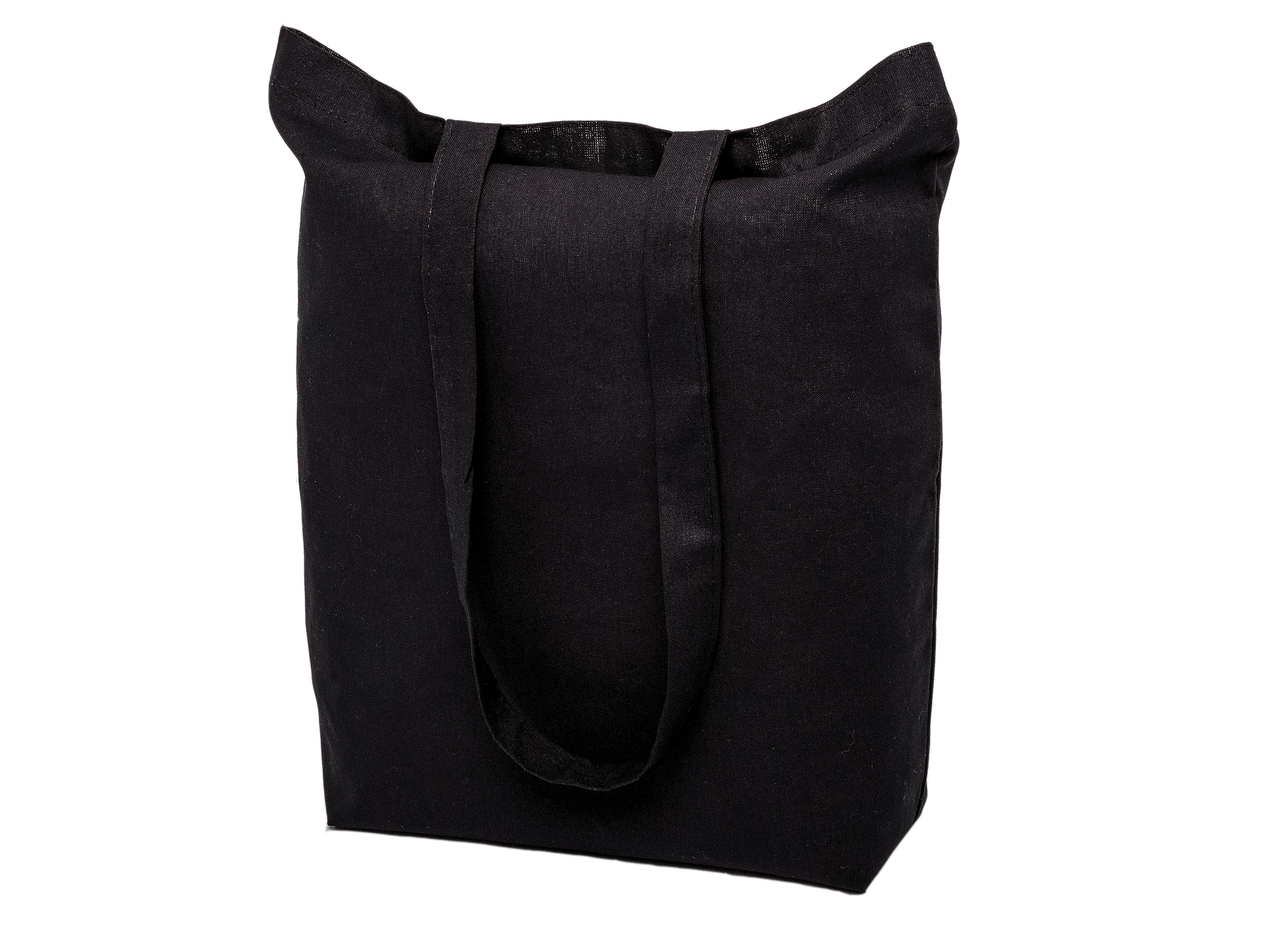 Item COTTON BAG long handle 38x42 BLACK