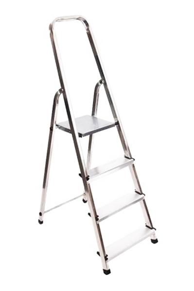 Лестница алюминиевым 4 ступенчатая лесенка домашняя