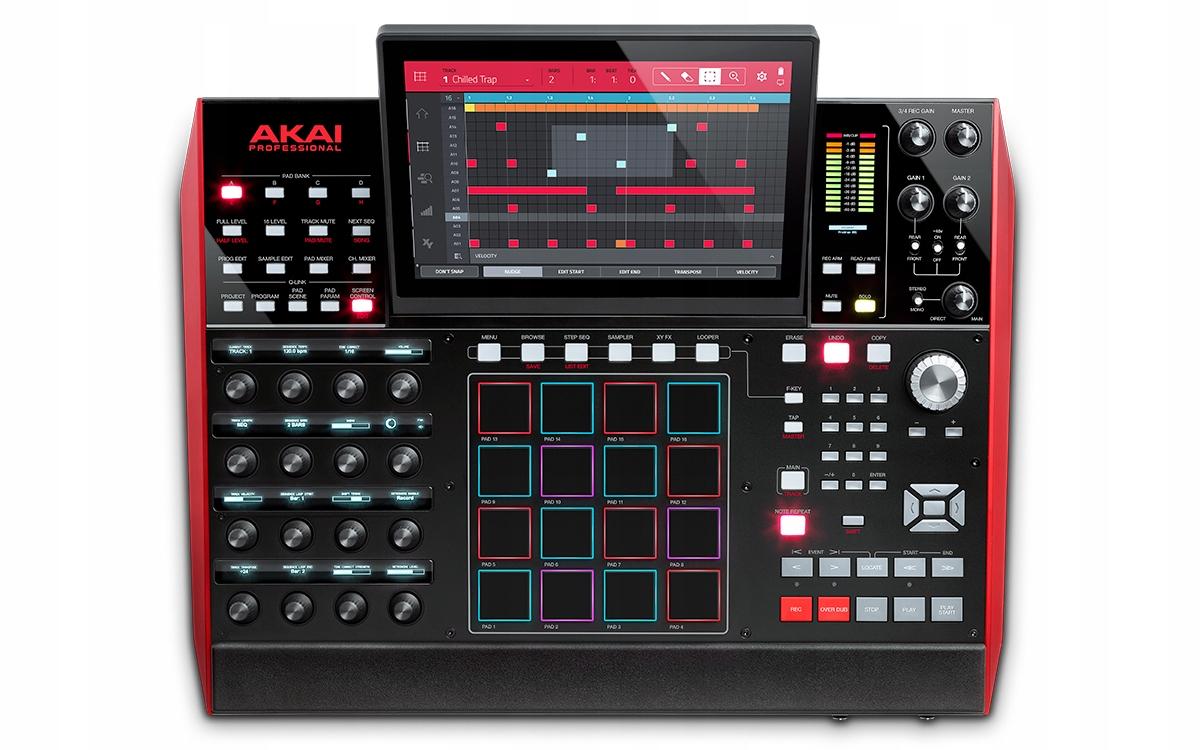 Stanica AKAI MPC X na výrobu hudobného ovládača