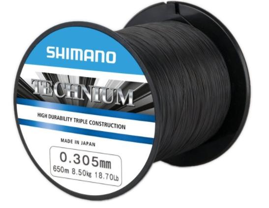 Shimano Technium vlasec 0.305 za 1100m mm 8,5 kg 18,7 lb