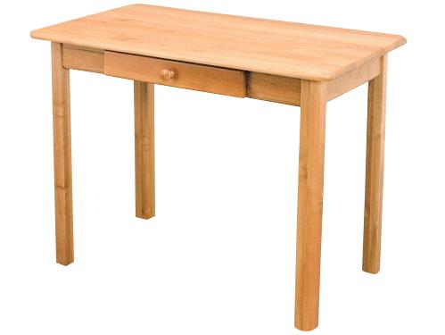 MASÍVNE 60x60 stôl so zásuvkou konferenčný stolík borovica bar