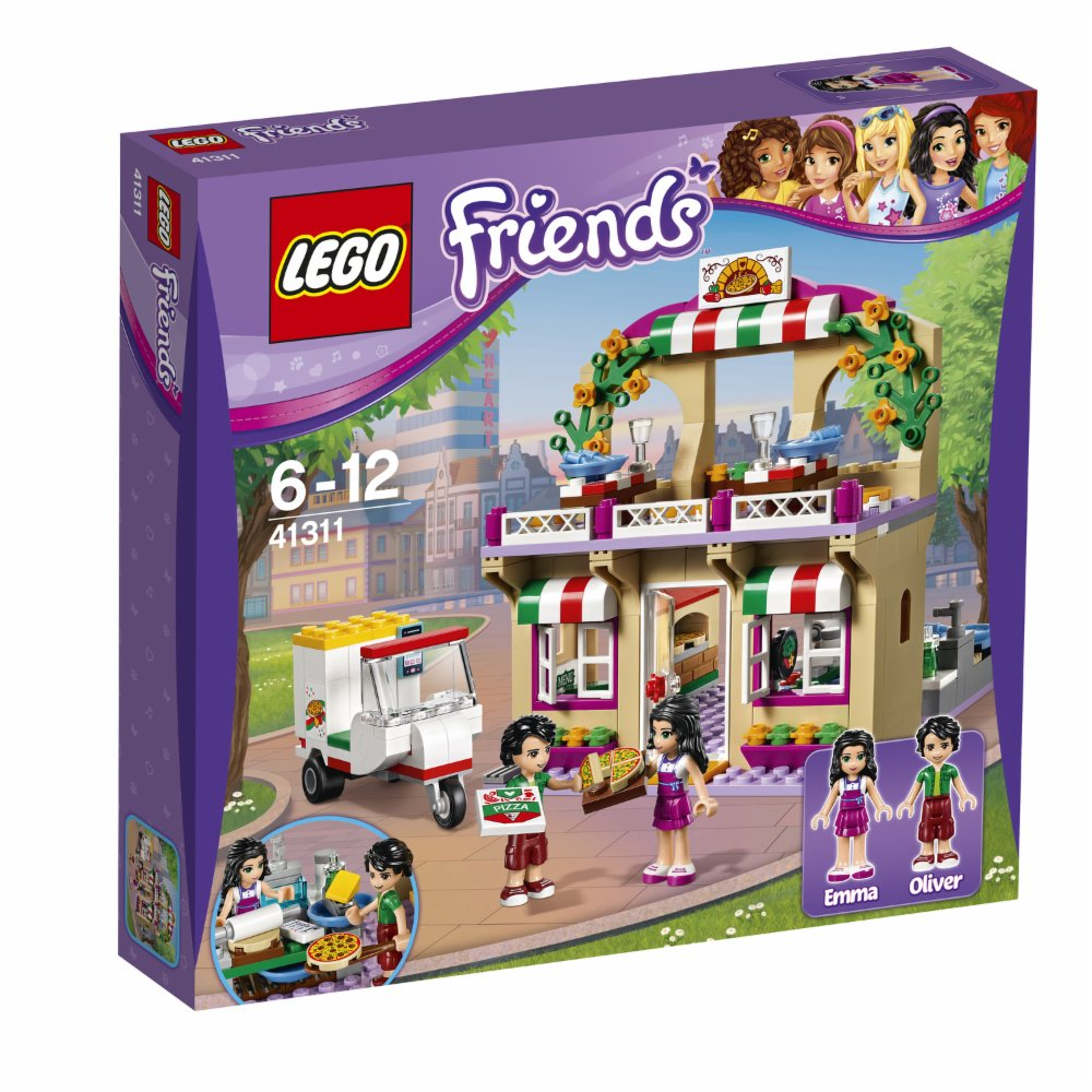 Lego Friends Pizzeria v Heartlake 41311