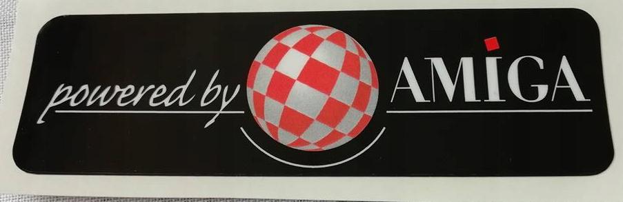 Купить ЧЕРНЫЙ sticker НАКЛЕЙКА НА АВТО АКТИВНЫЙ SOMPEX amiga на Eurozakup - цены и фото - доставка из Польши и стран Европы в Украину.