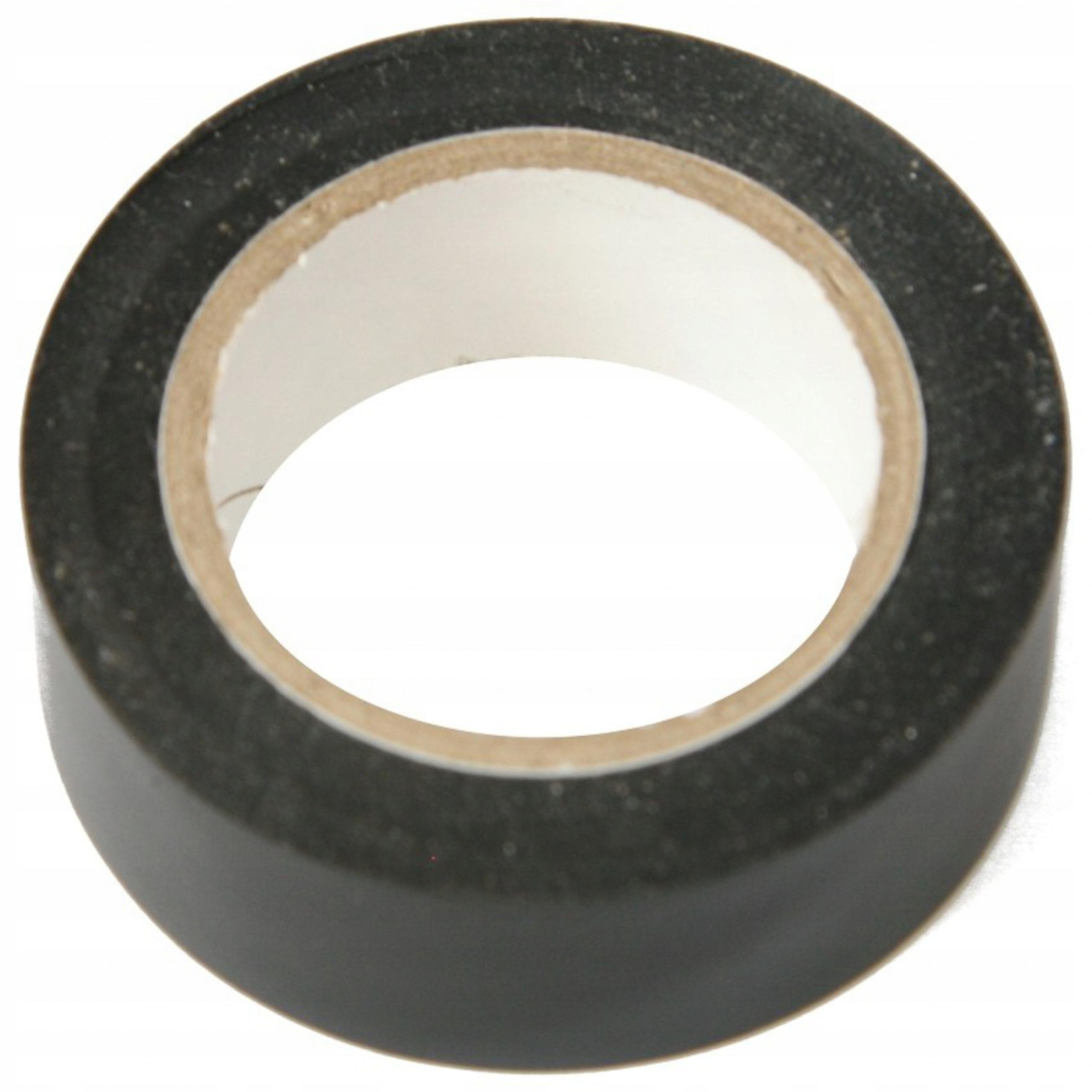 Клейкая лента изоляционная 19мм х 10м черная