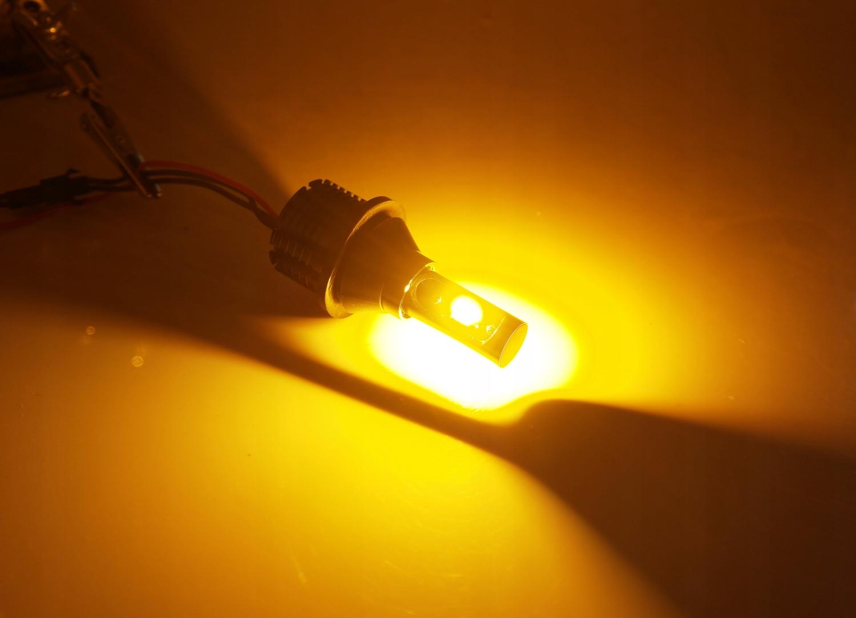 2w1 Światła LED DZIENNE KIERUNKOWSKAZY DRL LUXEON