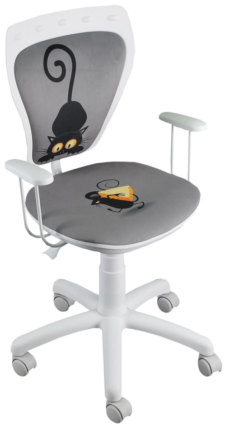 Ministyle KOT i MYSZ Nowy Styl krzesło białe 24H
