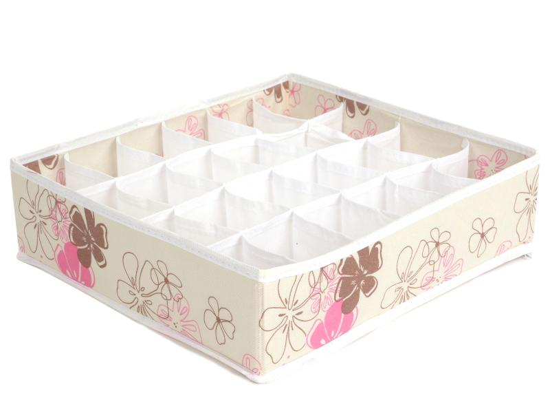 ORGANIZER NA SKARPETKI szafa do szuflady 24 biały