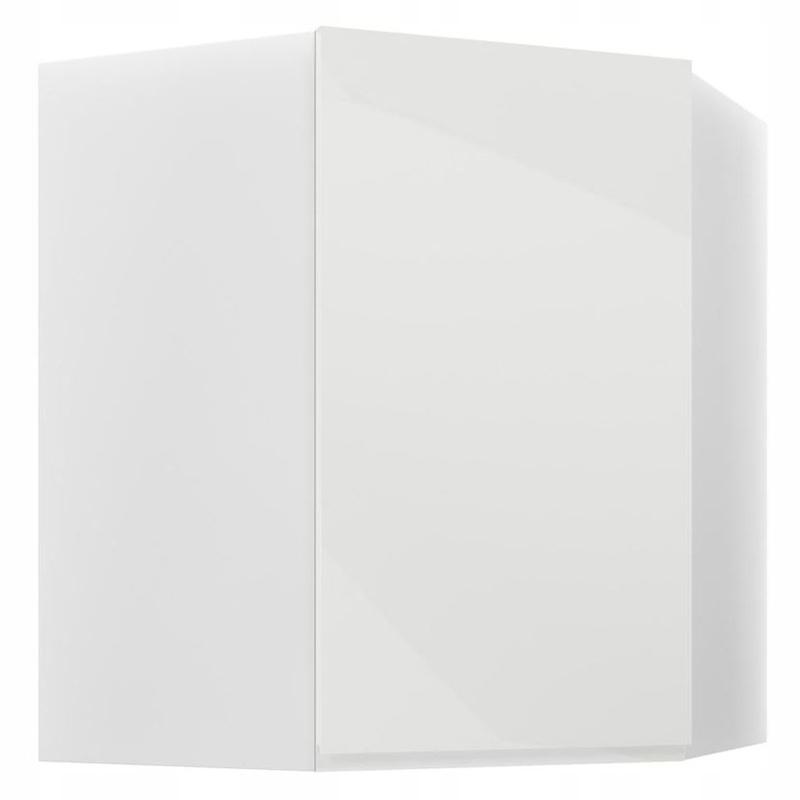 ASPEN rohu steny Skrine biela lesk G60N