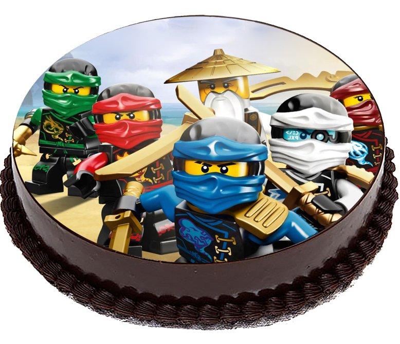 Лего ниндзяго картинки для торта круглые