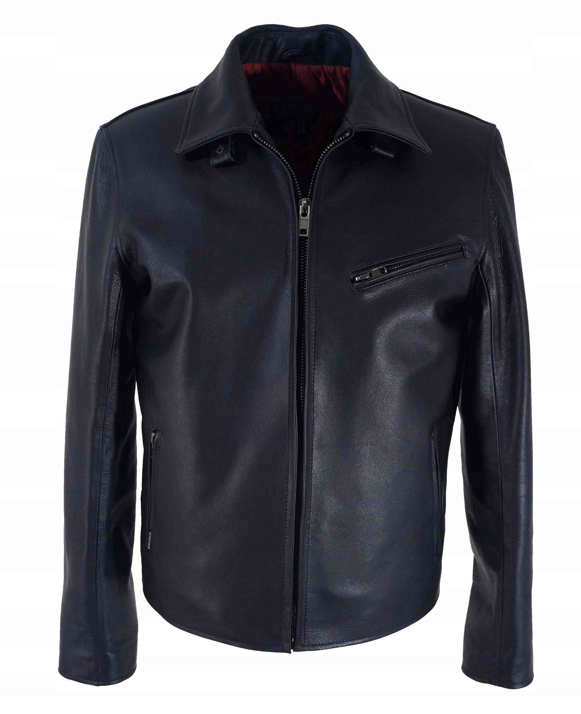 09ee1d6fb55 Куртка Pilot мужская кожаная черная Aero L 50