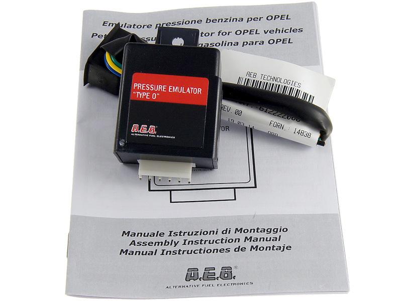aeb type o 628126000 эмулятор давления топлива