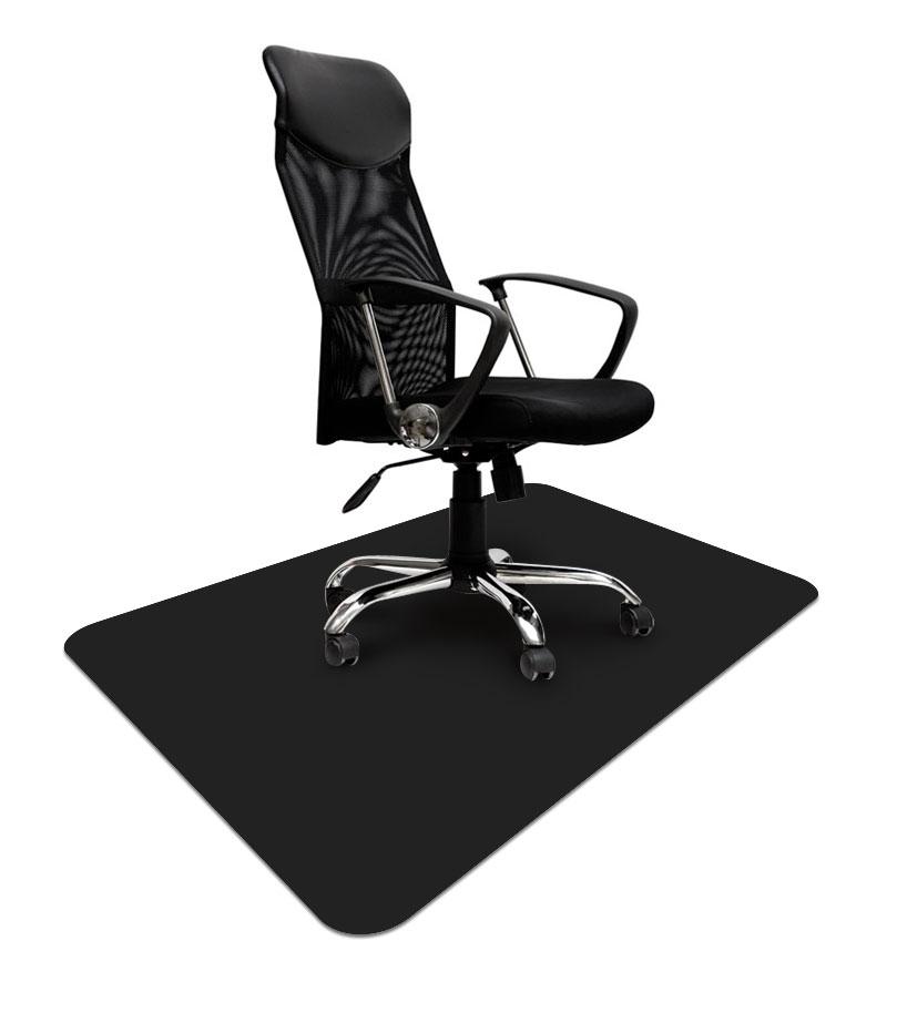 GRUBA CZARNA mata ochronna 80x120cm pod krzesło 65 zł