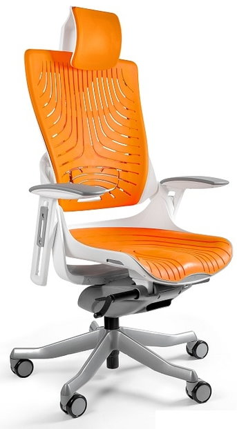 2 Jedinečné Wau elastomér kancelárske stoličky gabinetowy