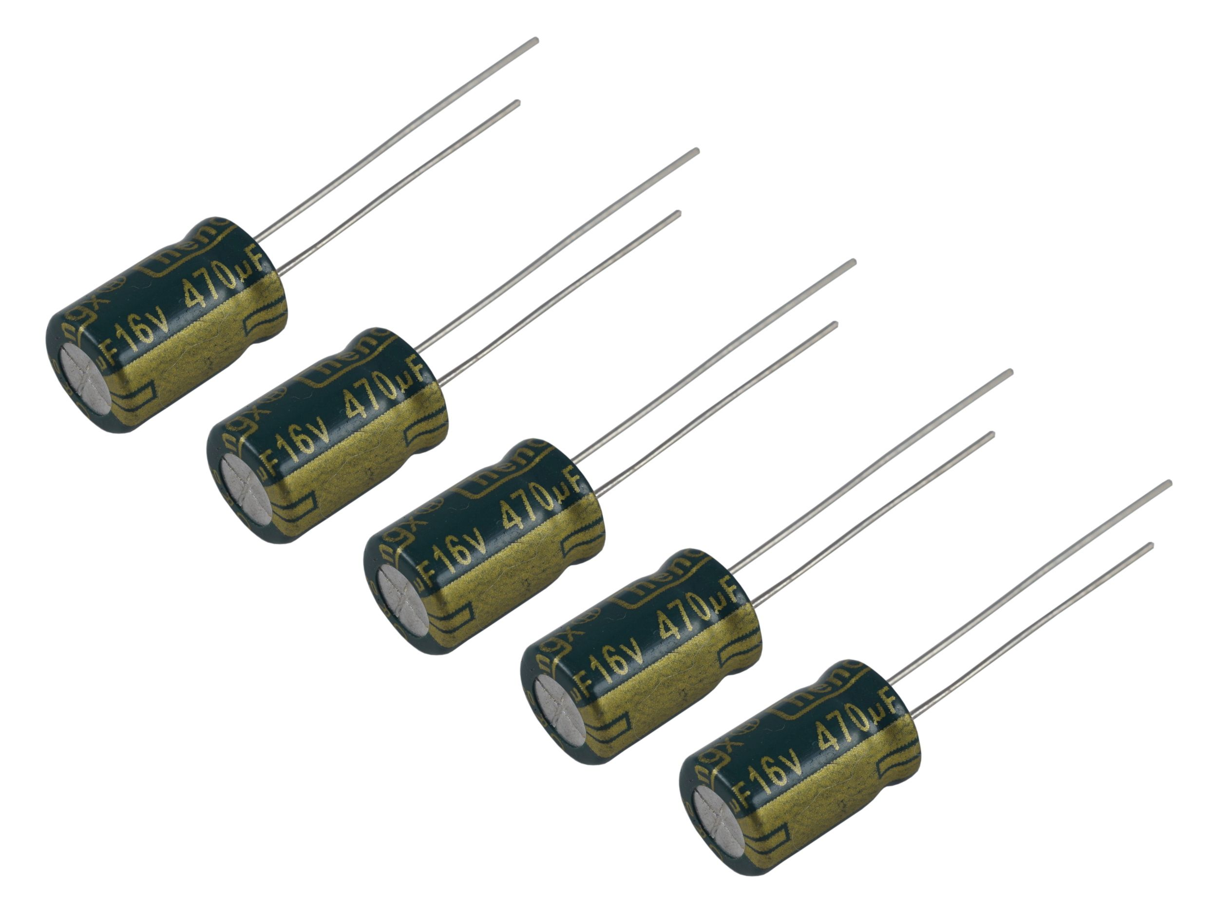 Конденсатор 470uF 16V Low ESR - [5шт]