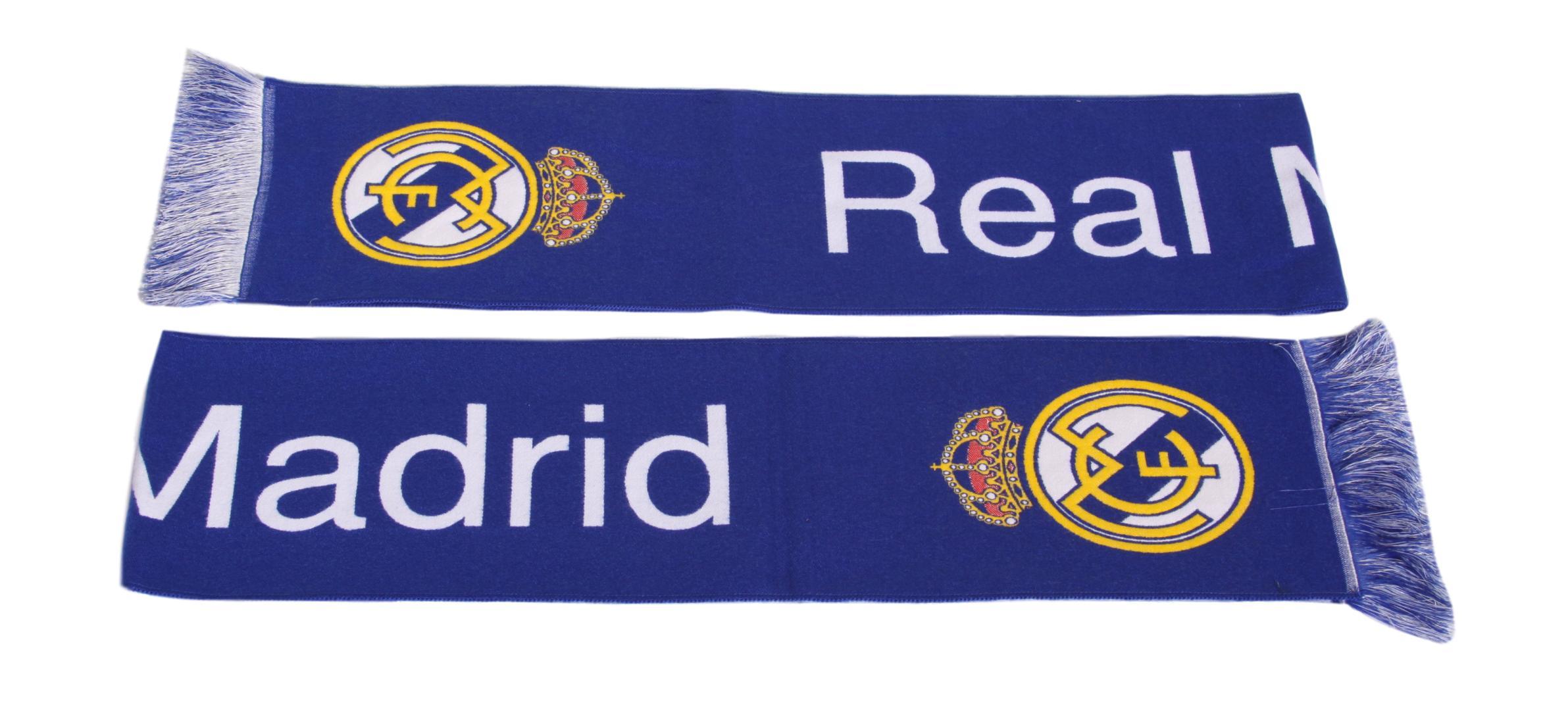 Real Madrid Scarf Shawt Woven pre Ronaldo Fan
