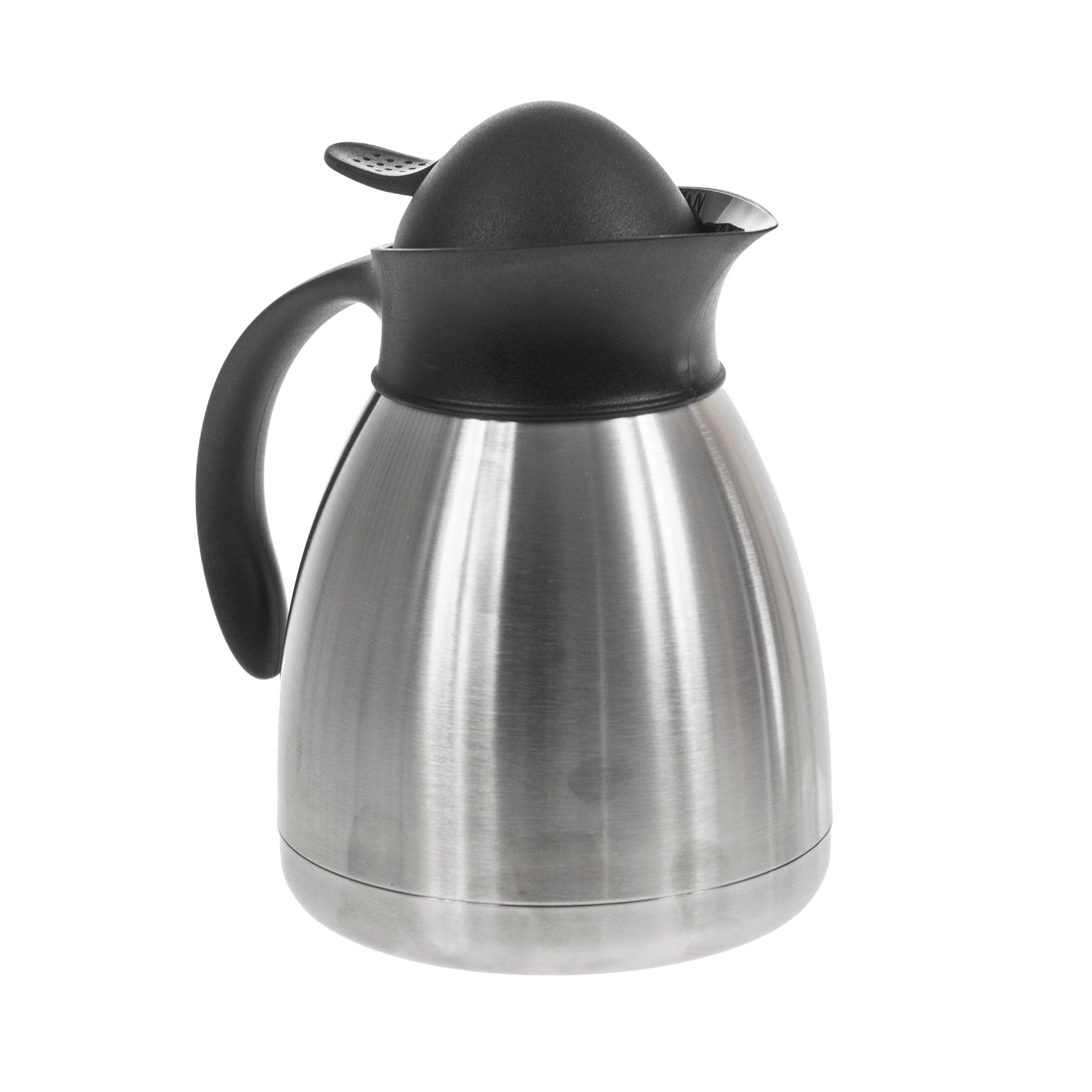 Termoska kávovar s tlačidlom Hendi 1L Inox