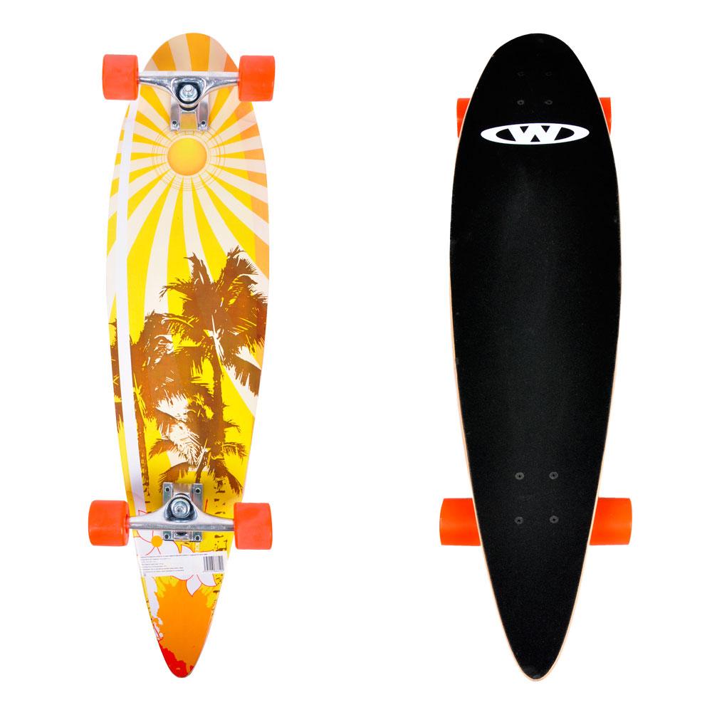 "Skateboard Longboard "" SurfBay 9 vložiek Javor"