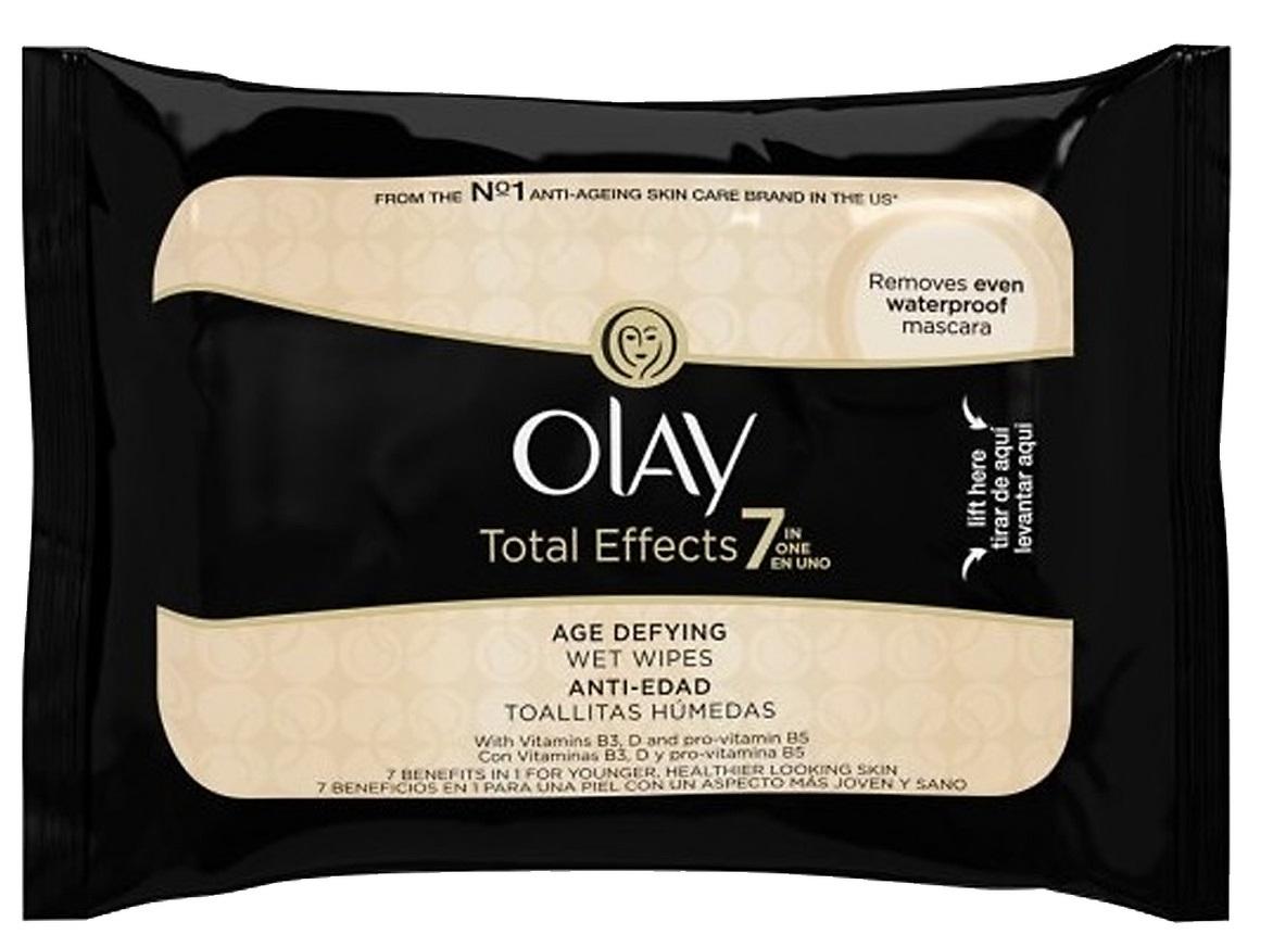 Olay total effects салфетки для снятия макияжа 20 шт