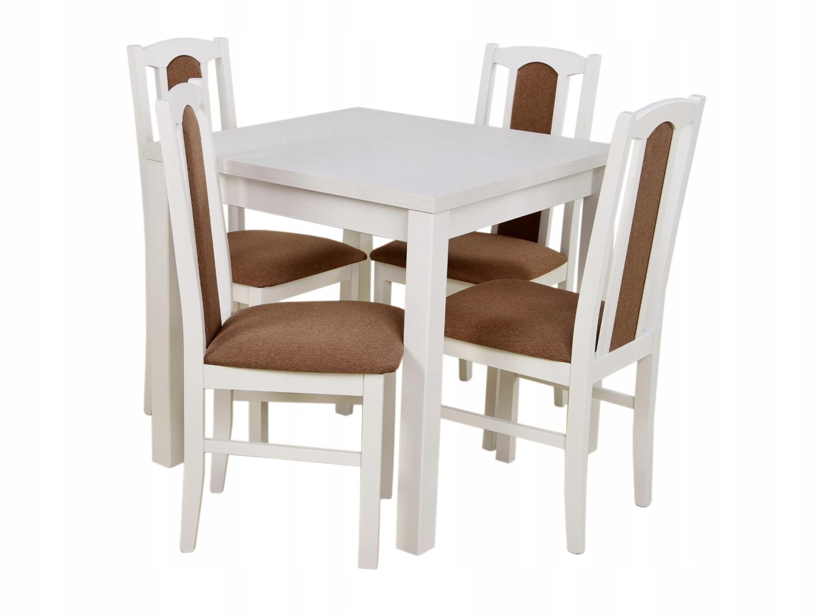 903d24fd43d6 Set Stôl 80x80 cm + 4 stoličky pre JEDÁLEŇ