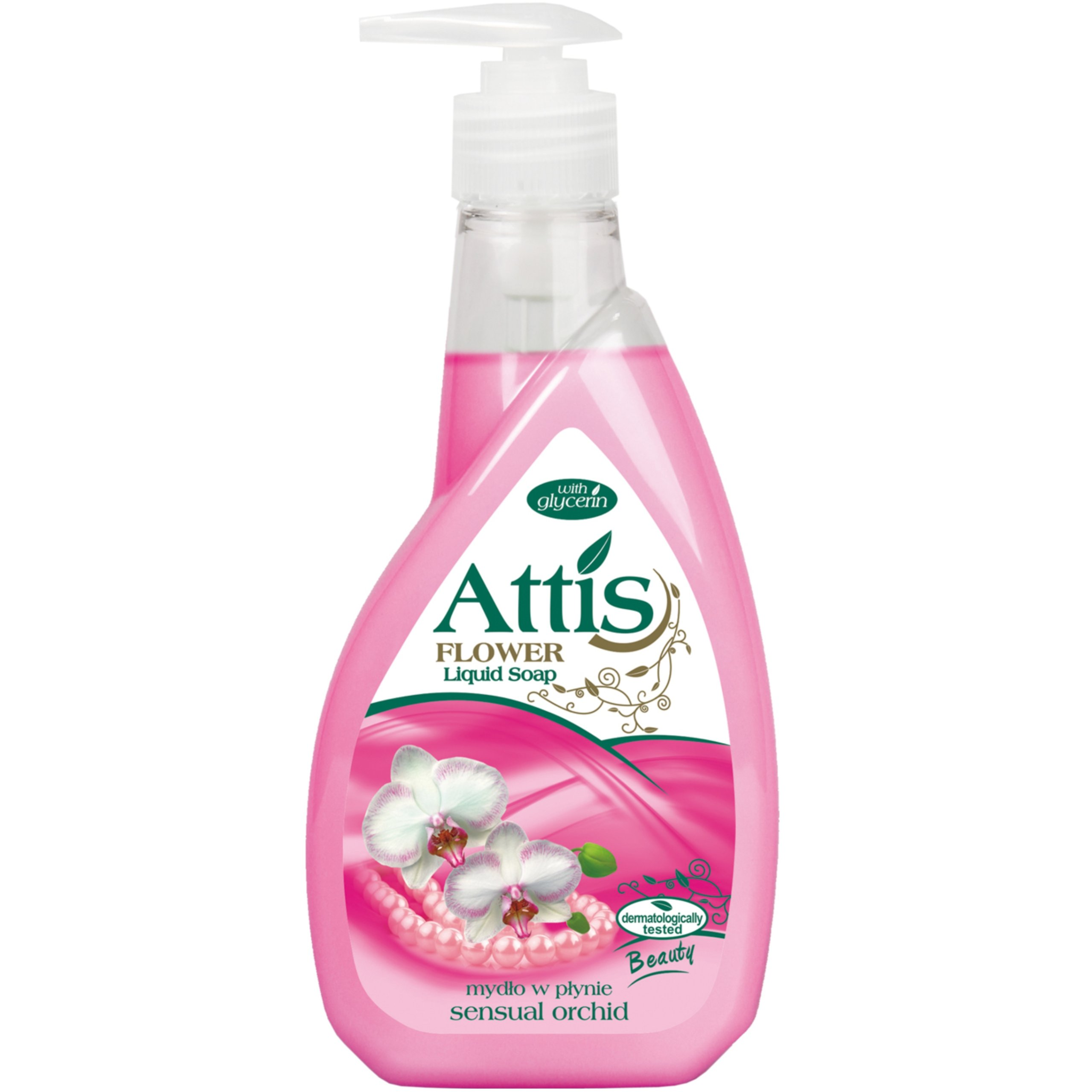 Kvapalné mydlo Attis Sensual Orchidea 400ml