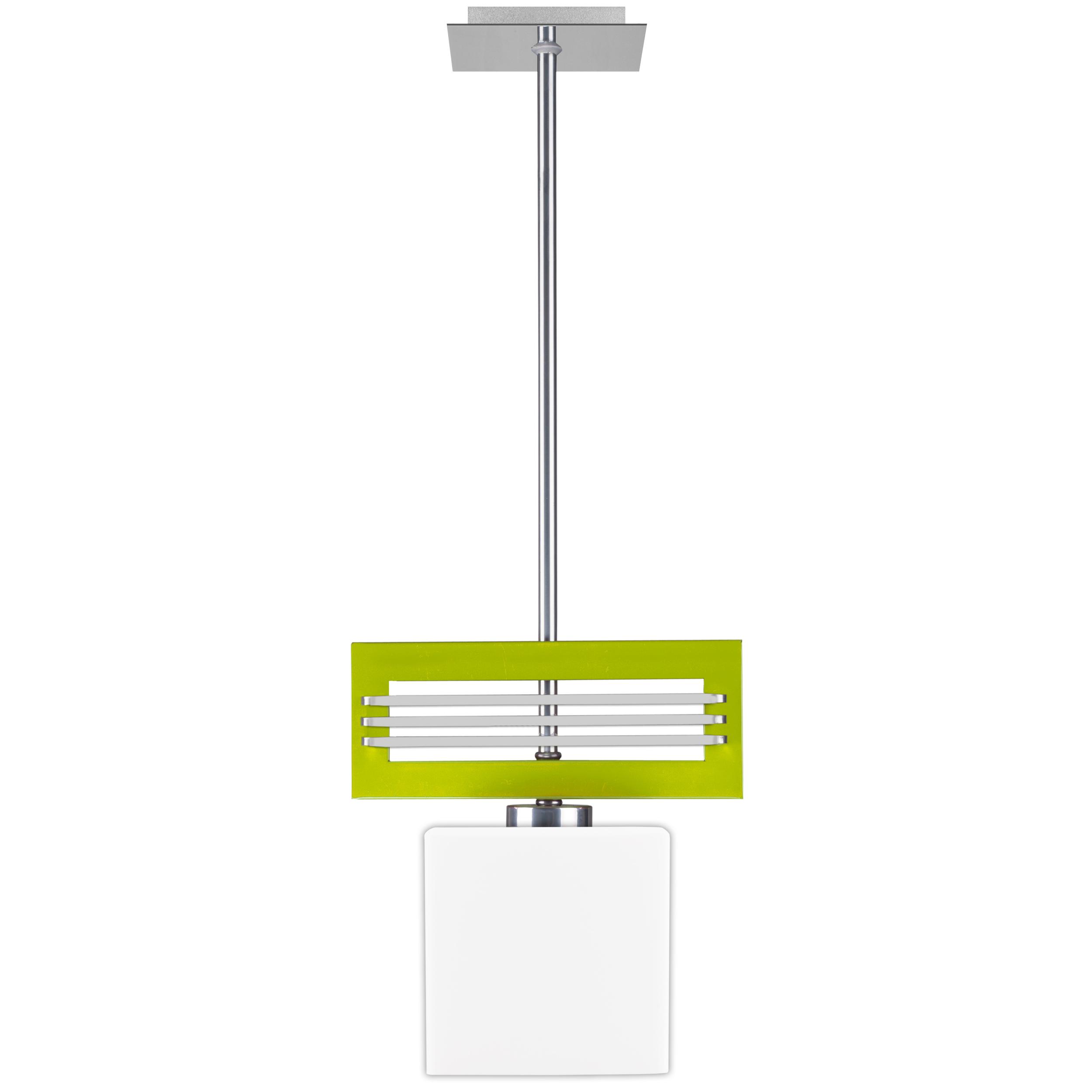 Moderná lampa prívesok svetlo SANGHA / svetlo ZELENÁ