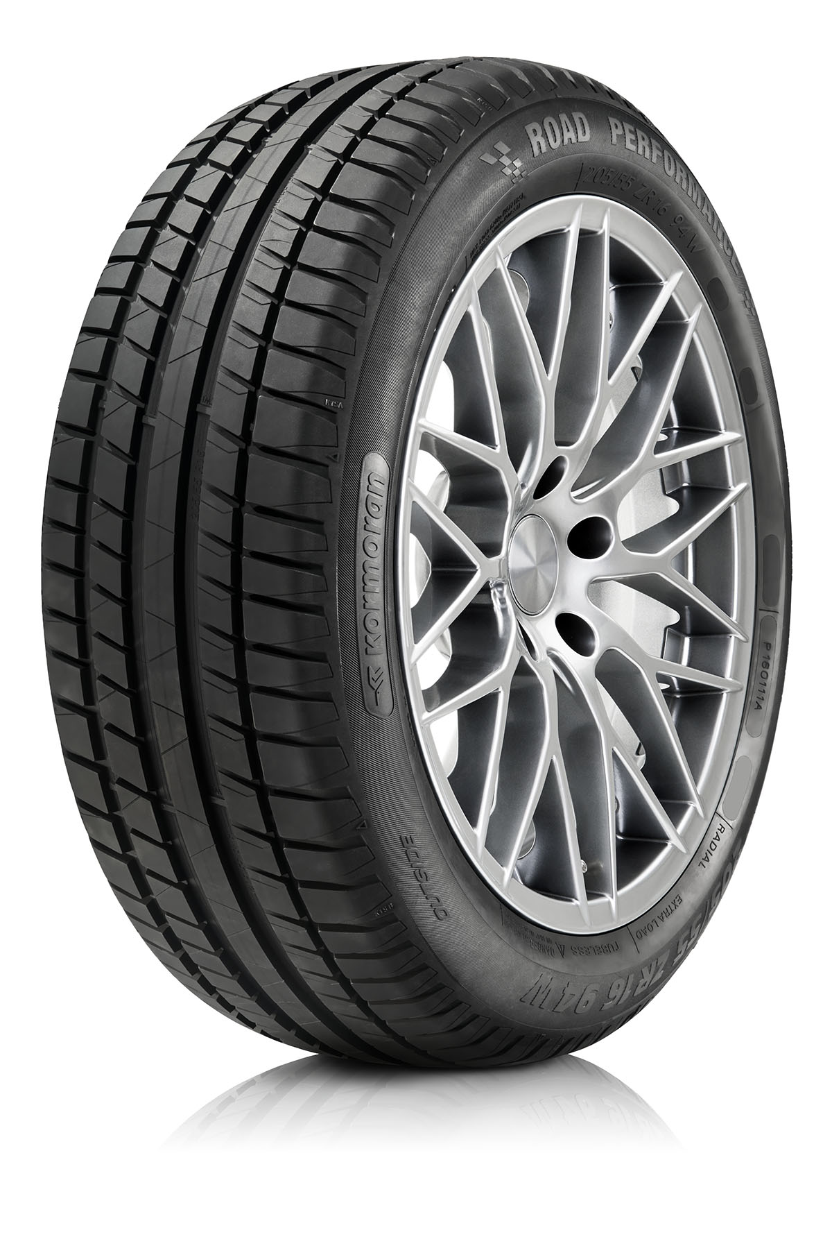 Item 4 summer tires 205/55R16 CORMORANT ROAD PERFORMANCE