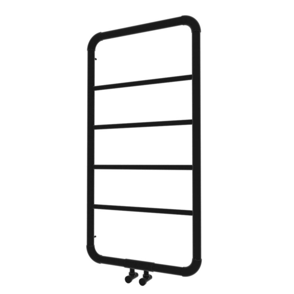 čierny lesklý radiátor Art 100 x 53 retro 215 W