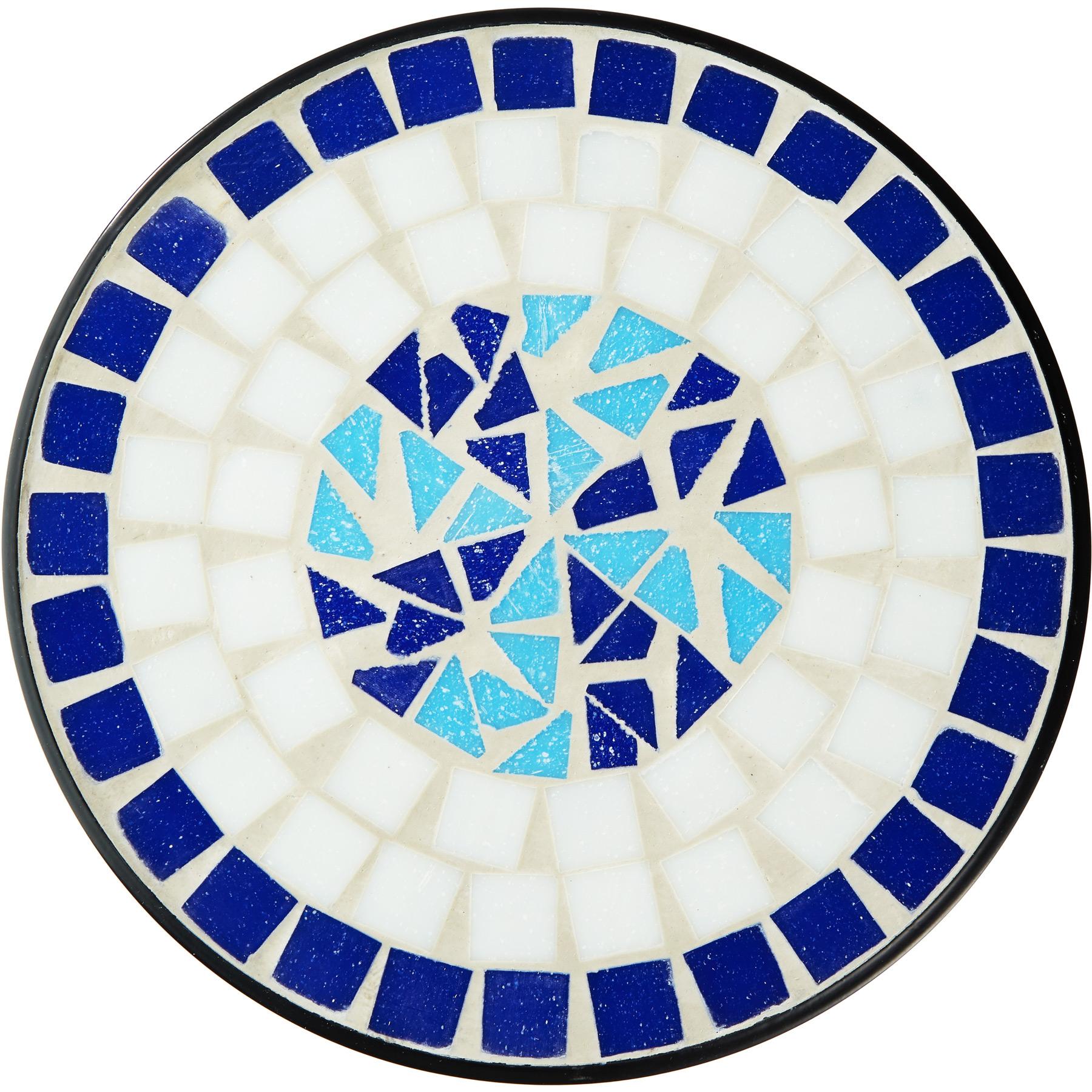 Stolový balkónový stôl, mozaikový záhon 402769 Šírka nábytku 30 cm