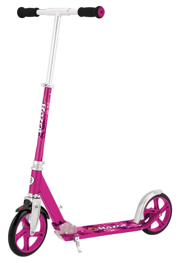 Kolobežka Razor A5 Lux veľké kolesá 200 mm ružové