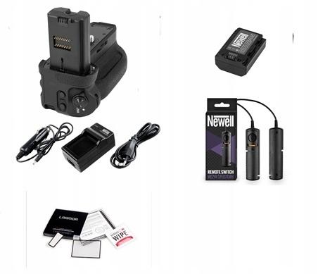 Nastaviť pre Sony A9 Grip / AKU / LCD / HOSE / HADE