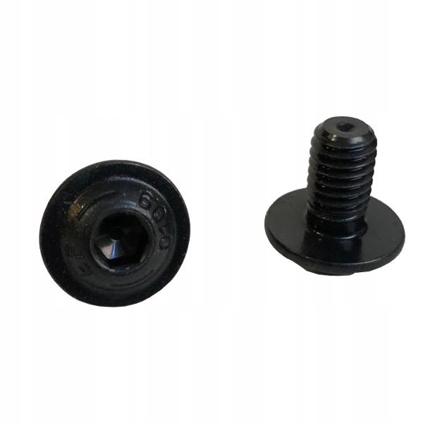 M5x10 Śruby z łbem podkład. ISO 7380-2 cz 25szt