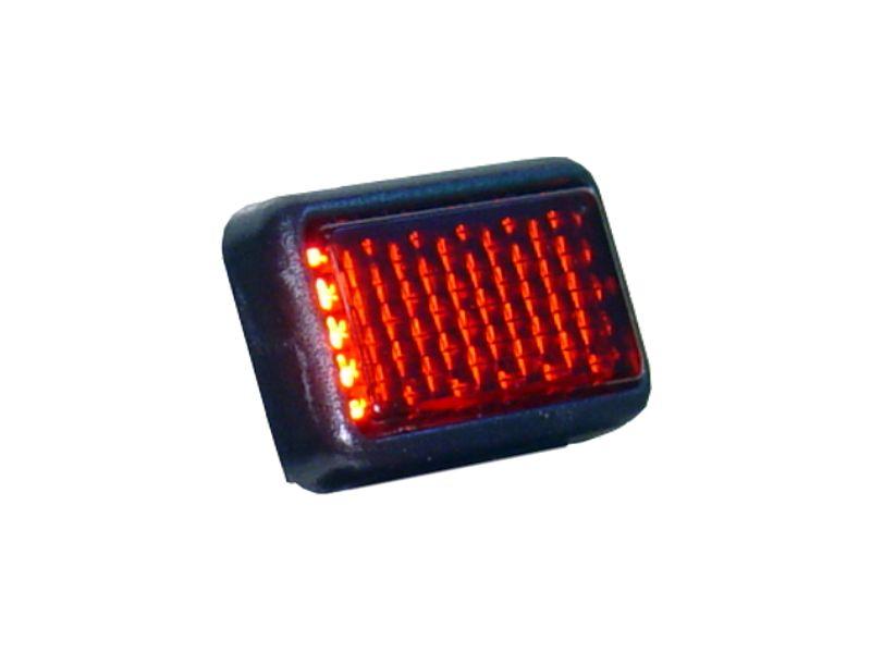 hr - красные блики света светоотражающие 31x19mm