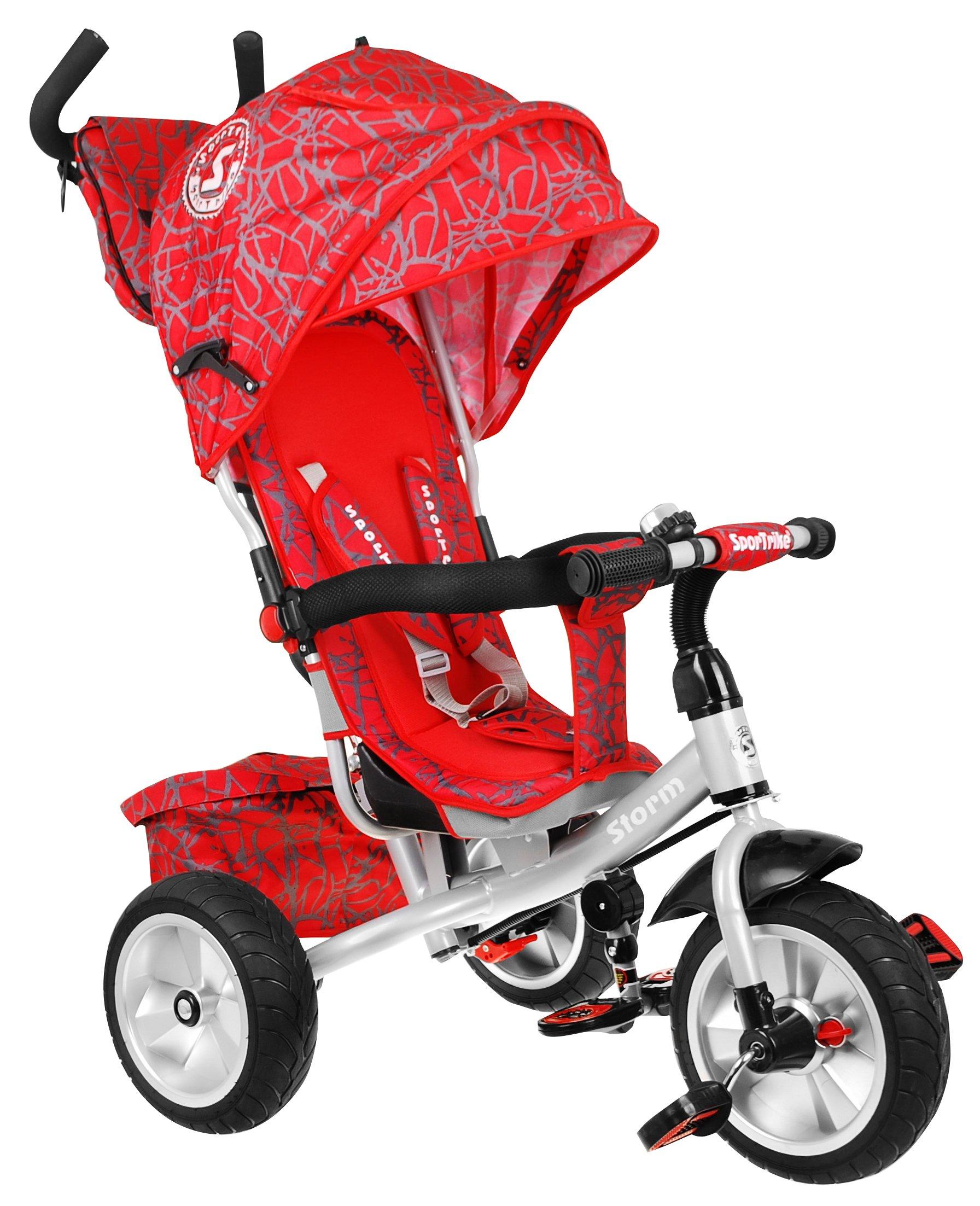 trojkolku bicykel BÚRKA stupačky + popruhy + taška