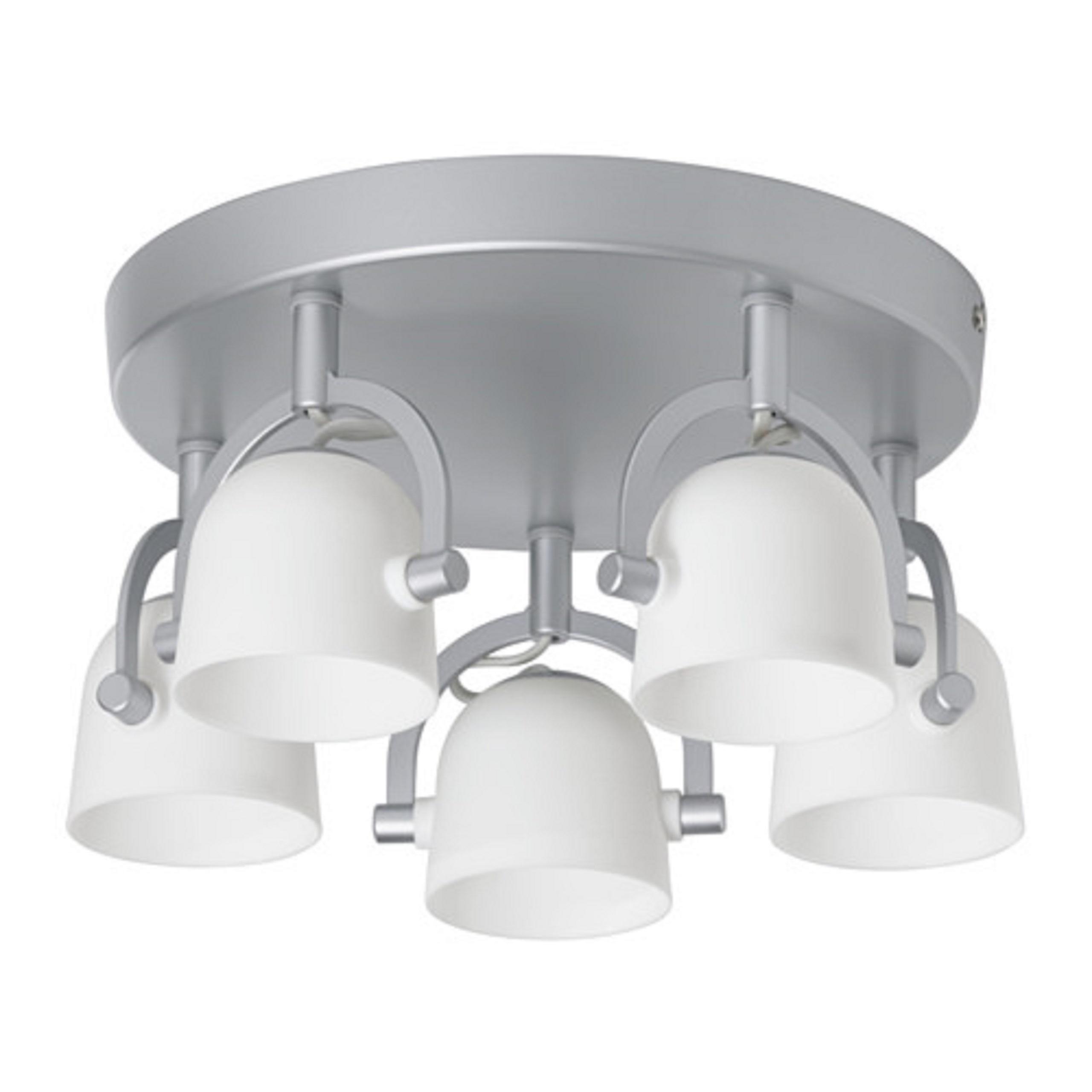 Lampa Oświetlenie Sufitowa Okrągła Nowoczesna Ikea