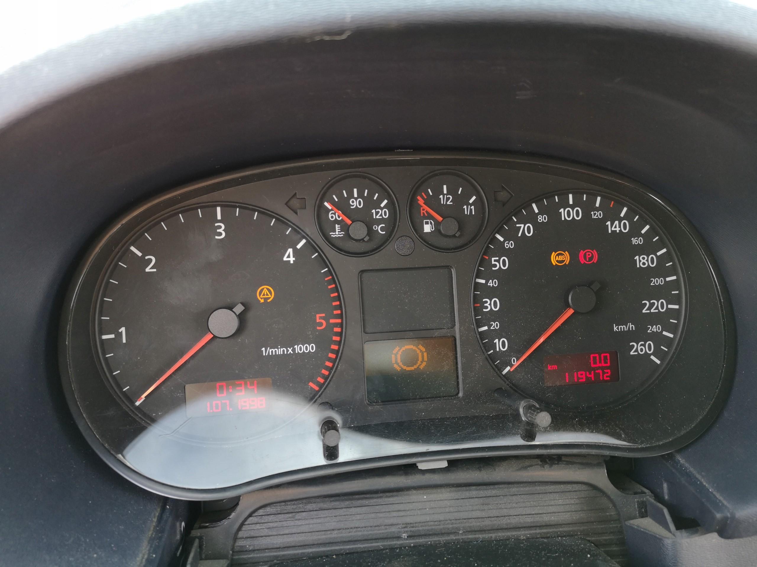 Audi A3 8l Lift Licznik Zegary Jaeger 8l0920900e 7429497542