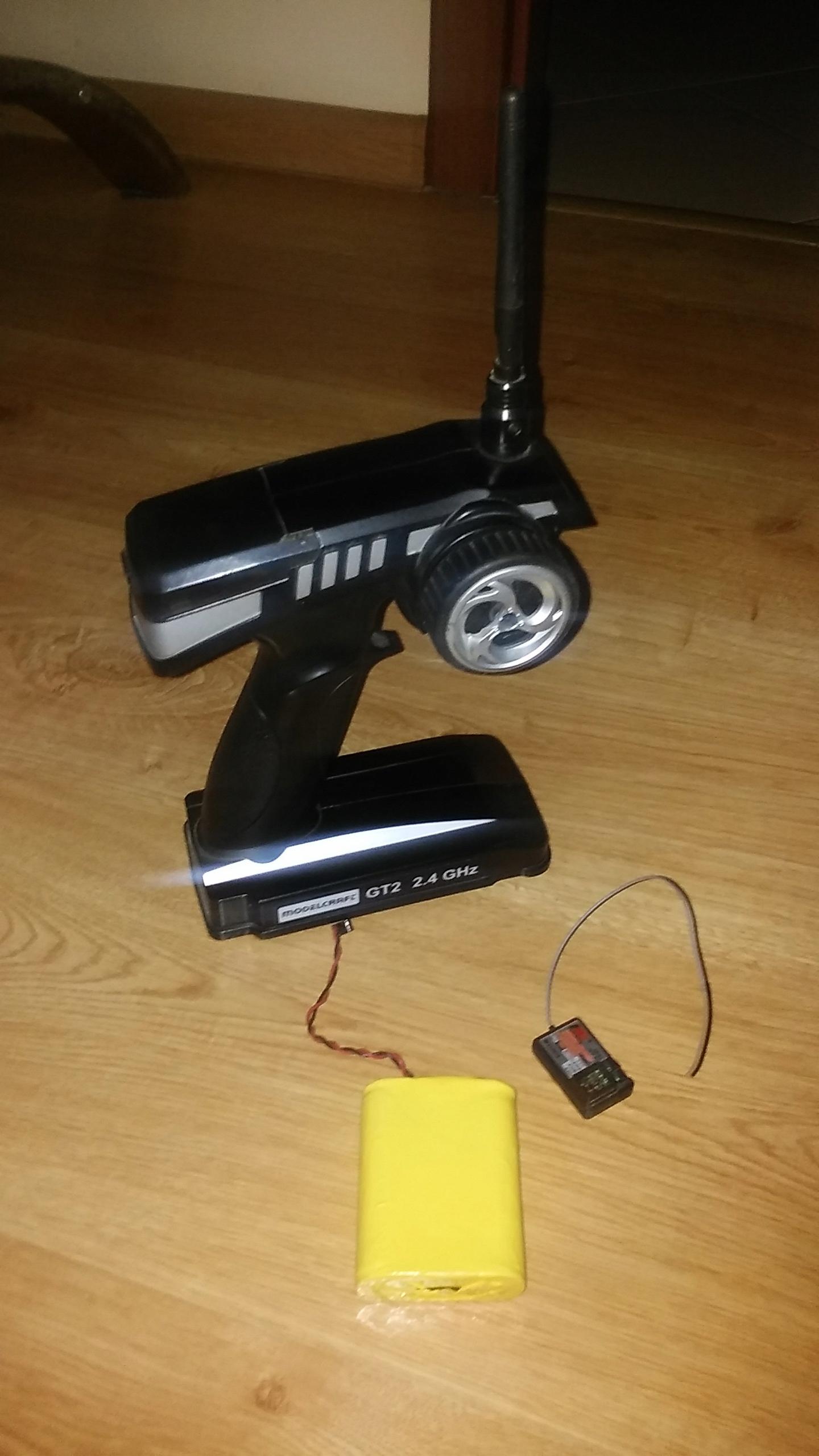 radio 2,4 2ch + regulator LPR