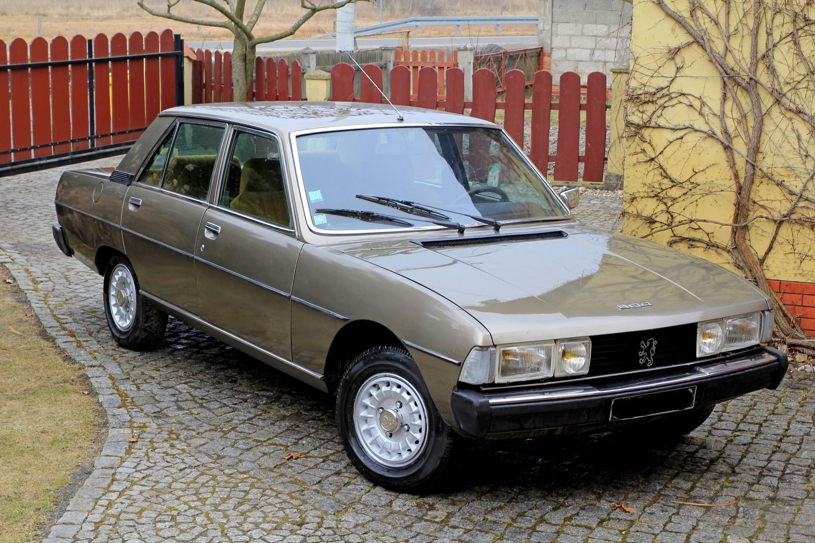 PEUGEOT 604 1977r UNIKAT rzadki Peugeot V6 2.7L !!