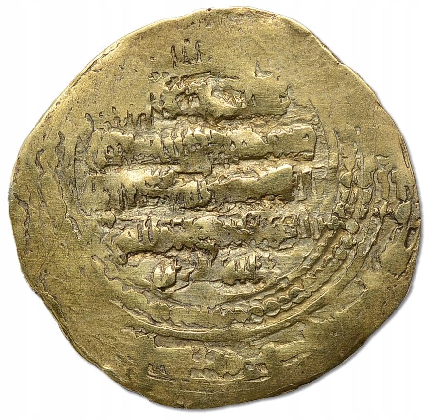 43.zz.GHAZNAWIDZI, ZŁOTY DIRHAM 962 - 1186
