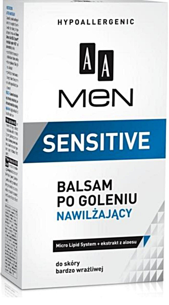 AA Men Sensitive Balsam po goleniu nawilżający Wwa